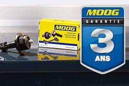 MOOG Garantie 3 ans