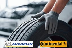 réparateurs pneus michelin continental